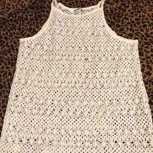 Crochet tank!!